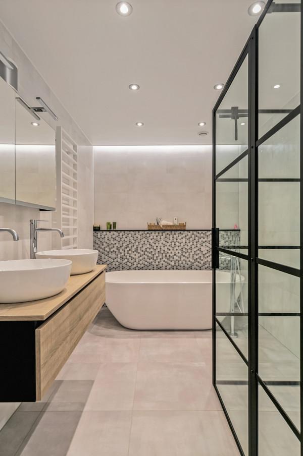 Project moderne badkamer