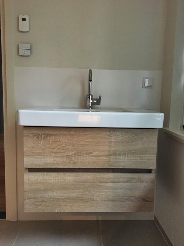 Badkamer met nieuwe cv-ketel
